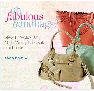 Oh Fabulous Handbags! Shop now.