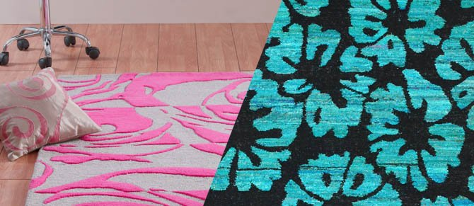 nuLoom Colored Rugs