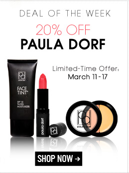 Deal of the Week: 20% off Paula Dorf Limited-Time Offer: March 11 – 17 Shop Now>>