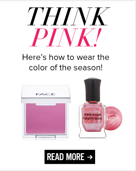 Think Pink! Here's how to wear the color of the season! Read More>>