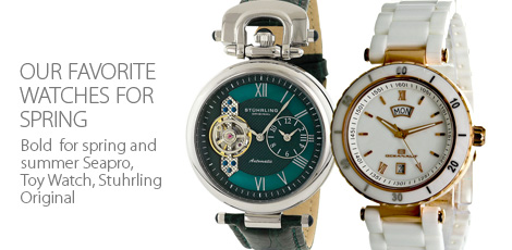 Spring Selection - Our Favorite Watches