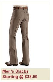 Men's Slacks