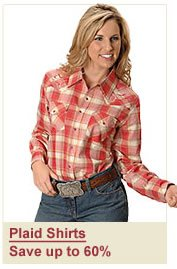Women's LS Plaid