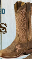 Tony Lama Cross Boot