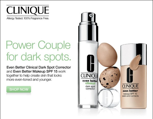 Clinique Power Couple for dark spots. Shop now.