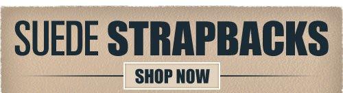Suede Strapbacks