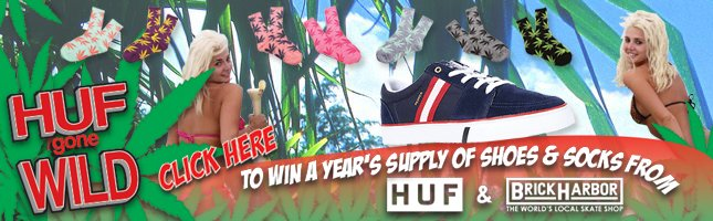 Do you Love HUF? Well Brick Harbor has you covered to get a year's supply!