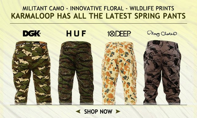 Military, Floral, Wildlife, All the Prints you Need to Complete Your Pants Look
