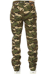 The Working Man 3 Chino Pants in Woodland Camo