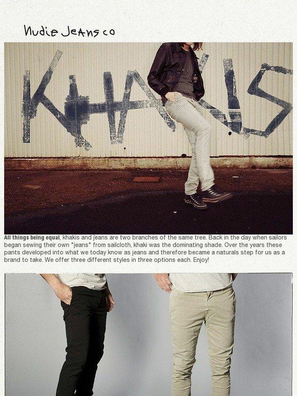 Nudie Jeans Co: Nudie Jeans Khakis   Milled