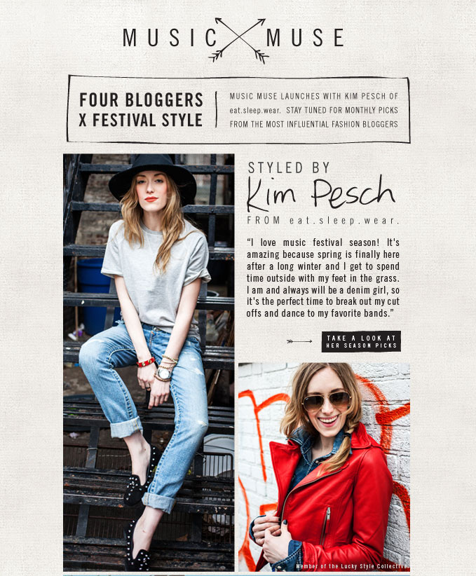 Introducing Music Muse: Fashion Blogger Style + Win A Summer Festival Trip