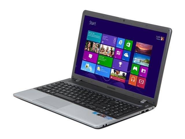 SAMSUNG Series 3 NP350V5C-T01US Notebook Intel Core i7 3630QM(2.40GHz) 15.6 inch 6GB Memory DDR3 1600 500GB HDD 5400rpm DVD Super Multi AMD Radeon HD 7730M