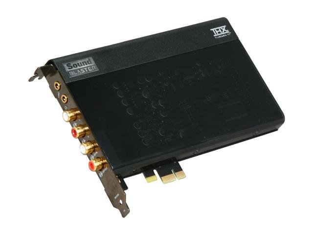 Creative Sound Blaster X-Fi Titanium HD 24-bit 96KHz PCI Express x1 Interface Sound Card powered by THX TruStudio Pro