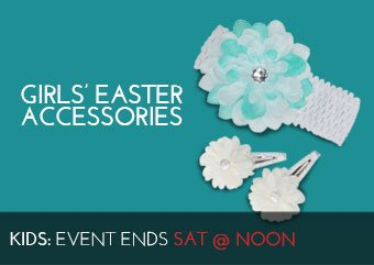 GIRLS' EASTER ACCESSORIES