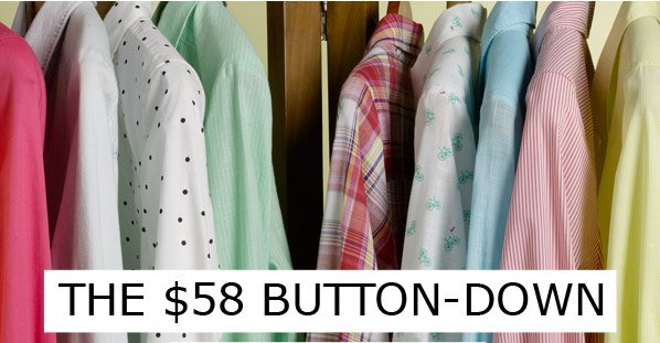 THE $58 BUTTON-DOWN