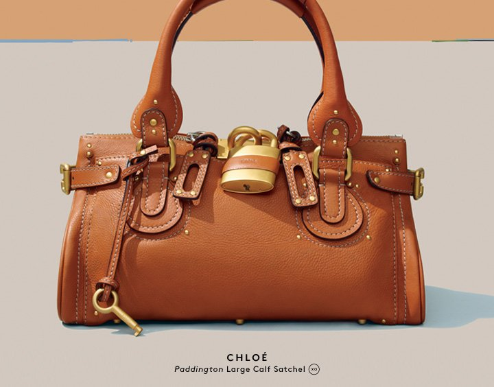 Once beloved, forever beloved: Shop the Chloé Paddington bag.