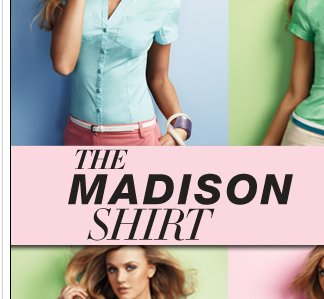 NY DEAL: The Madison Shirt, only $20!