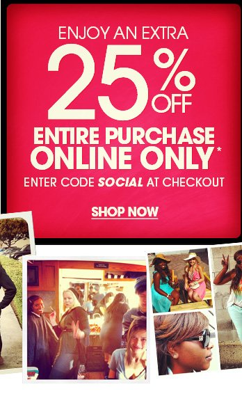 Tanke an additional 25% off online - Shop Now