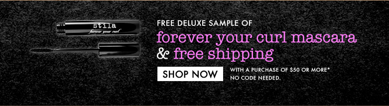 free deluxe mascara sample and free shipping