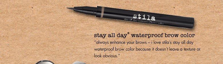 always enhance your brows...