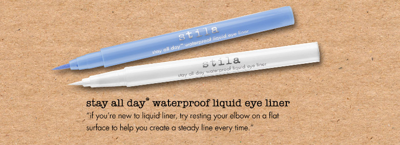 if you're new to liquid liner, try...