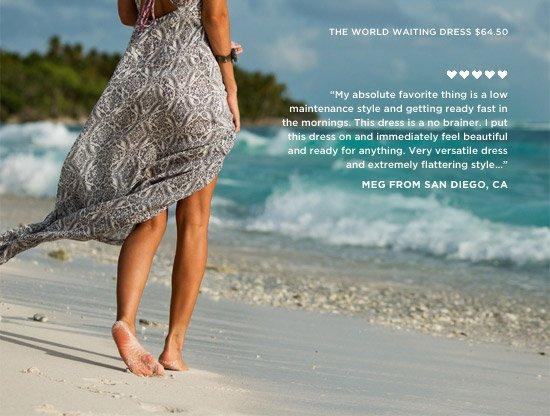 The World Waiting Dress $64.50
