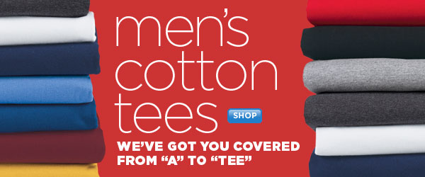 SHOP Men's Cotton TEES