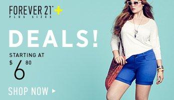Forever 21 Plus Spring Deals - Shop Now