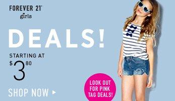 Forever 21 Girls' Spring Deals - Shop Now