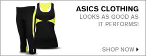 Women's ASICS Clothing