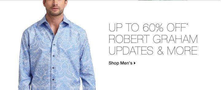 Up To 60% Off* Robert Graham Updates & More
