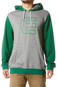Icon Scribble Pullover, Grey/Green