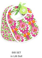 Bib Set in Lilli Bell