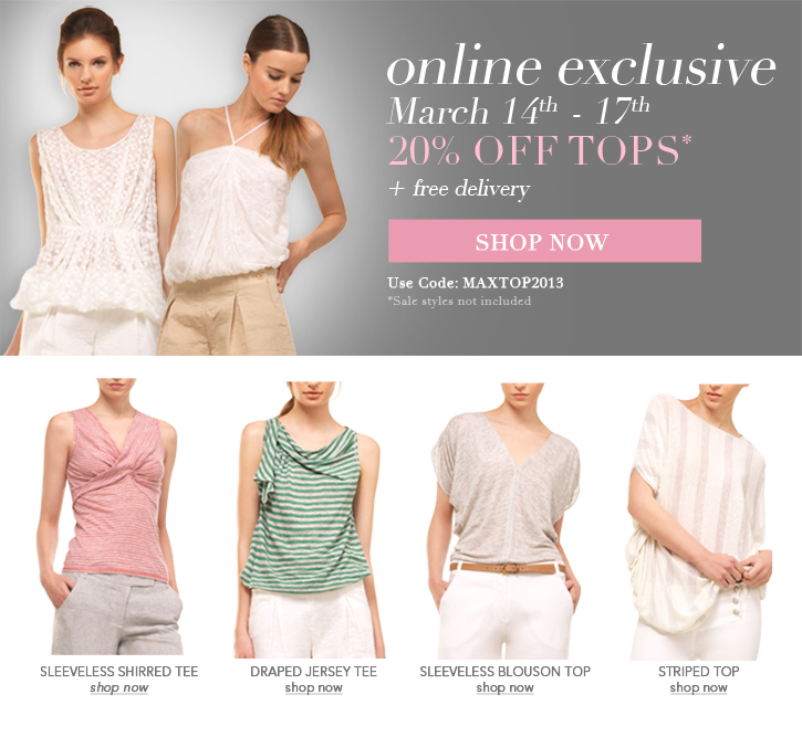 maxstudio dresses 20% off