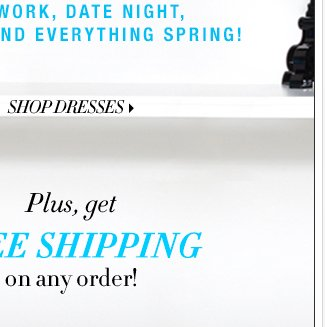 Get FREE SHIPPING on ANY order!