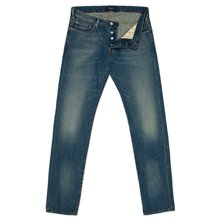 Paul Smith Jeans - Tapered-Fit Mid-Wash Jeans