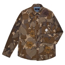 Paul Smith Jackets - Desert Camouflage Print Shirt Jacket