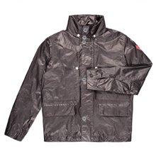 Paul Smith Jackets - Grey Coated Metallic Jacket