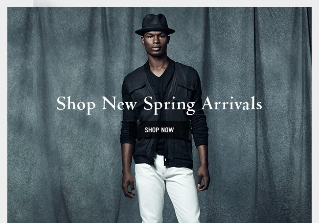 Shop New Spring Arrivals