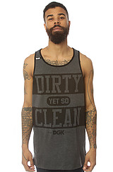 The Clean Tank in Black Heather