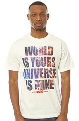 The Universe Tee in White