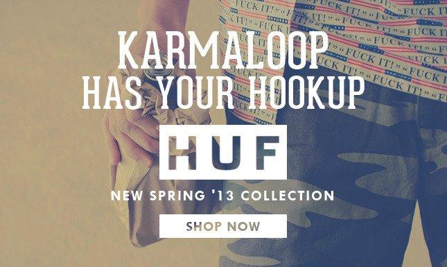 HUF Spring Collection Now on Karmaloop