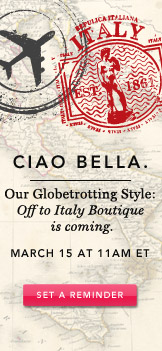 Ciao Bella. Set A Reminder.
