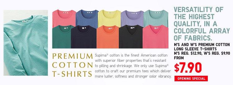 PREMIUM COTTON T-SHIRTS