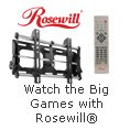 Watch the Big Games with Rosewill.