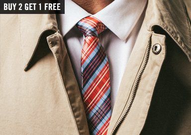 Shop On Trend: New Pastel & Plaid Ties