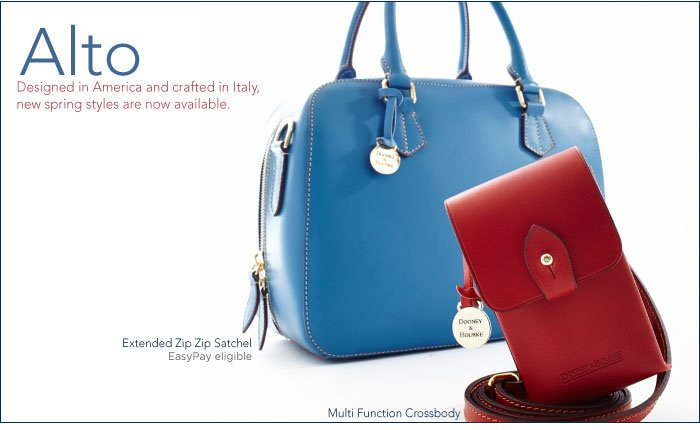 Alto - Designed in America and crafted in Italy, new styles now available