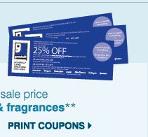 EXCLUSIVE COUPONS for our BEST CUSTOMERS Now through Sunday, March 17 - Use this Goodwill(R) Sale coupon and SAVE an EXTRA 20% on regular & sale price   cosmetics & fragrances** Print coupon.
