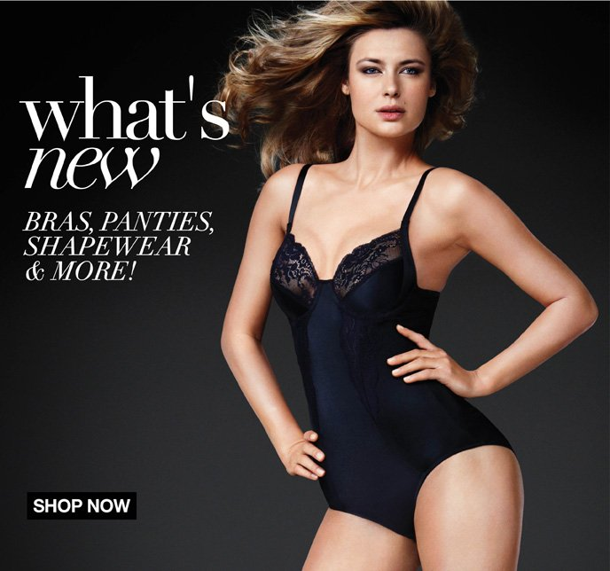 What's New: Bras, Panties, Shapewear & More!