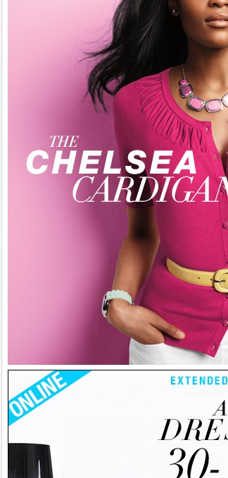 NY DEAL: The Solid Chelsea Cardigan, only $25!